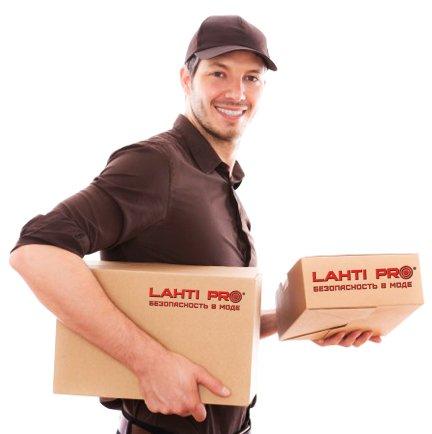 Доставка одежды Lahti Pro по Украине Новой Почтой