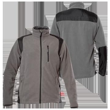 купить, заказать Куртка флисовая темно-серая