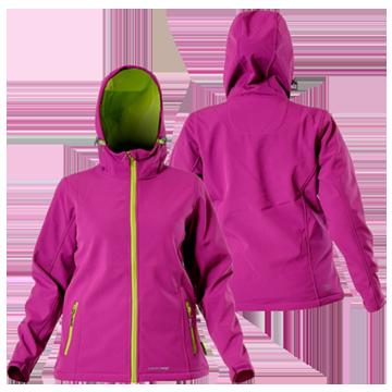 купить, заказать Куртка SOFT-SHELL темно-розовая