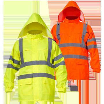 Куртка сигнальная водонепроницаемая